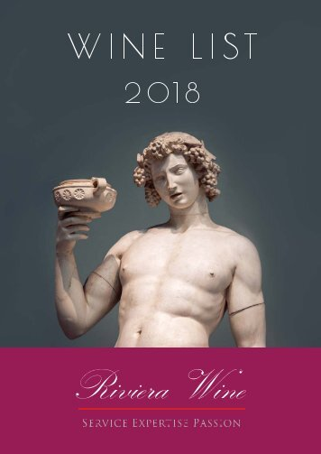 Riviera Wine - Catalogue 2018