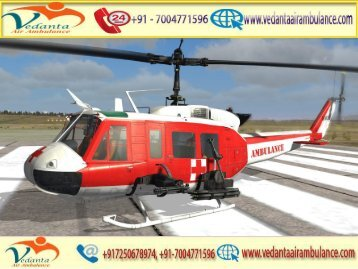 Vedanta Air Ambulance from Mumbai to Delhi with MD Doctor