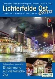 Lichterfelde Ost extra Nr. 6/2017
