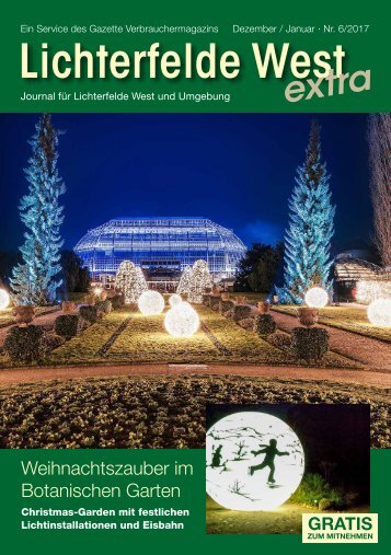 Lichterfelde West extra Nr. 6/2017