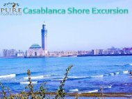 Casablanca Shore Excursion