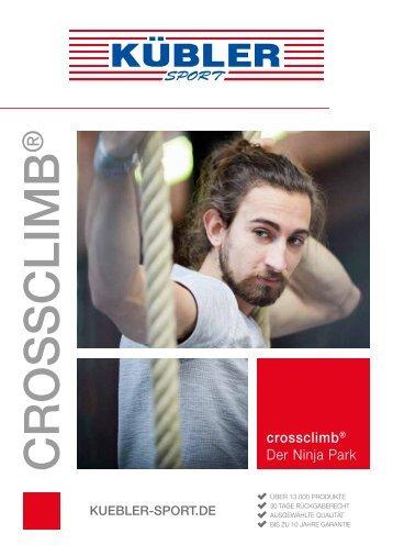 Crossclimb Flyer 2018 Kübler Sport