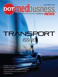 Ocean, Air, and Truck Freight Medical Trailers De ... - DOTmed.com