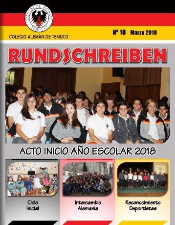 Boletín MARZO 2018