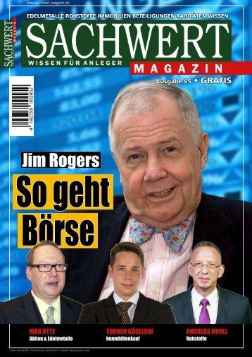 Sachwert Magazin Ausgabe 65, März 2018