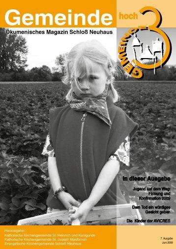 Ausgabe 7 - Juni 2009 - Kath. Kirchengemeinde St. Heinrich und ...