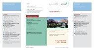 Programmflyer 29.09.2012 - MediClin Fachklinik Rhein-Ruhr