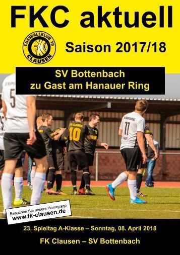 FKC Aktuell - 23. Spieltag - Saison 2017/2018