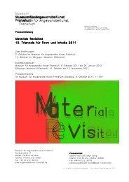 PM_Triennale 2011_18 - Museum für Angewandte Kunst Frankfurt