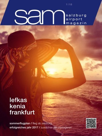 Salzburg Airport Magazin SAM 01-2018