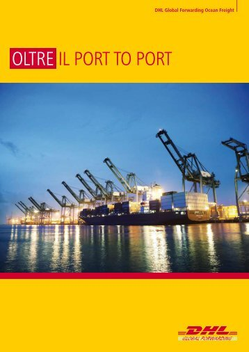 Scarica la Brochure Trasporto Marittimo - DHL