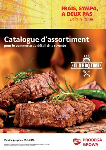 Catalogue d'assortiment