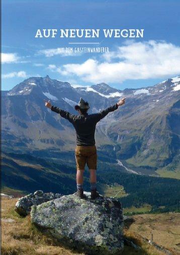 Fotobuch - Auf neuen Wegen mit dem Gasteinwanderer