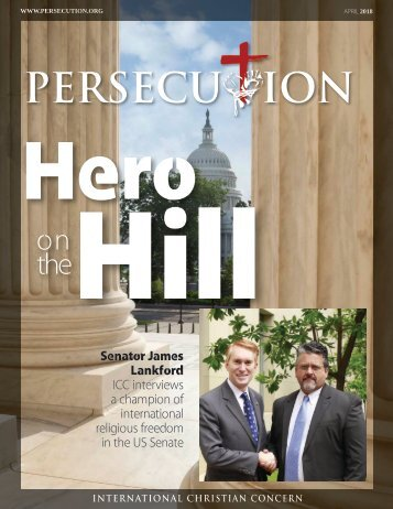 April 2018 Persecution Magazine