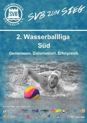 Schwimmverein Bietigheim e.V. - Wasserball Broschüre 2018