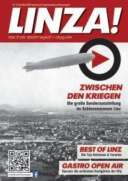 LINZA stadtmagazin Ausgabe#12 – April/Mai 2018