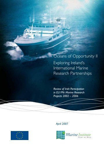 Oceans of Opportunity II Exploring Ireland's International Marine ...
