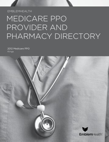 medicare ppo provider and pharmacy directory - EmblemHealth