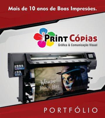 Portfólio Print Cópias