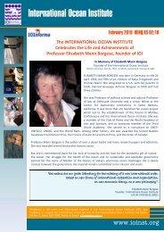 IOI Informa 02 2010 - International Ocean Institute