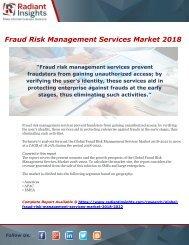 Fraud Risk Management Services Market 2018