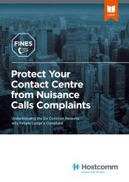 Protect Your Contact Centre from Nuisance Calls Complaints