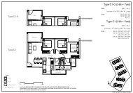 Rivercove Residences EC Floorplans