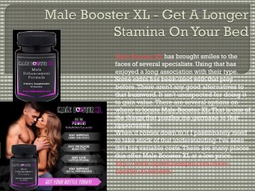 Male Booster XL - Get A Longer Stamina On Your Bed.output