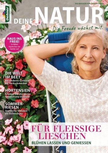 Dehner Magazin - 2/2018