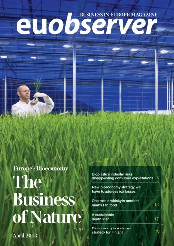 Europe's Bioeconomy: The Business of Nature