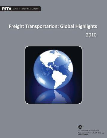 Global Freight Report_blueglobe.indd - Bureau of Transportation ...