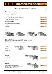 Schaublin Werkzeugaufnahmen (PDF 3.4 MB) - Realtools