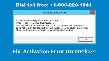 How To Fix Windows 8 Activation Error 1-800-220-1041 Toll Free