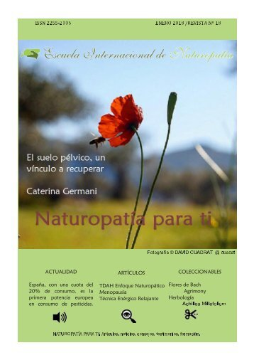 Revista Naturopatia para ti num 18