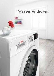 Bosch, wasmachines en droogkasten (2018)