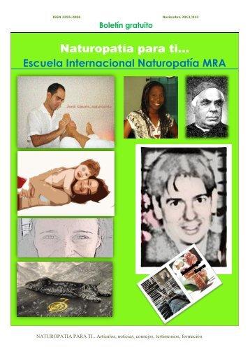 Revista Naturopatia para Ti nº 13