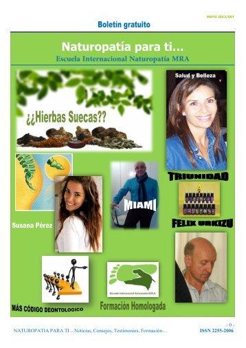 Revista Naturopatia para Ti nº7