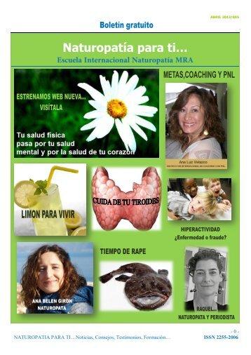 Revista Naturopatia para Ti nº 6