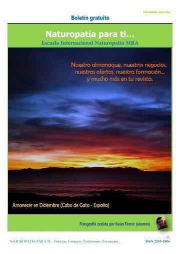 Revista Naturopatia para Ti nº 2