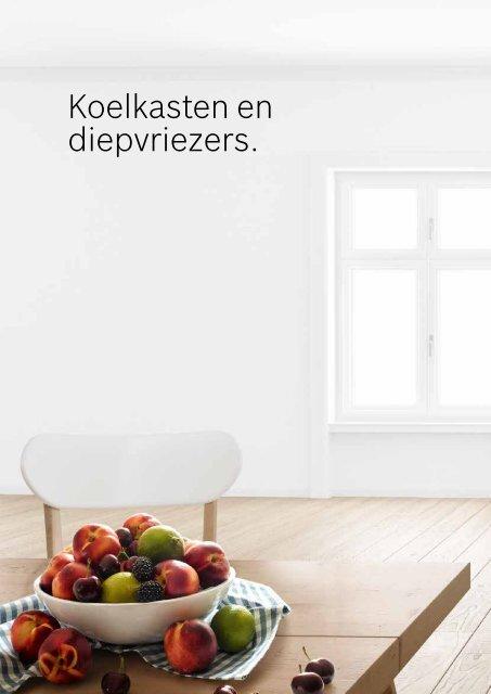 Bosch, koelkasten en diepvriezers (2018)