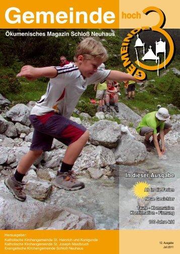 Ausgabe 12 • Juli 2011 - Kath. Kirchengemeinde St. Heinrich und ...