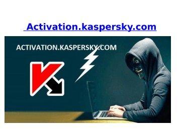 activation.kaspersky.com  |  kaspersky activation code