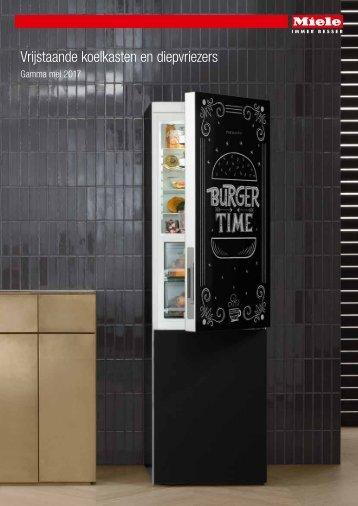 Miele, koelkasten en diepvriezers (2017)