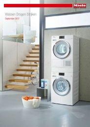 Miele, wasmachines, droogkasten en strijkijzers (2017)