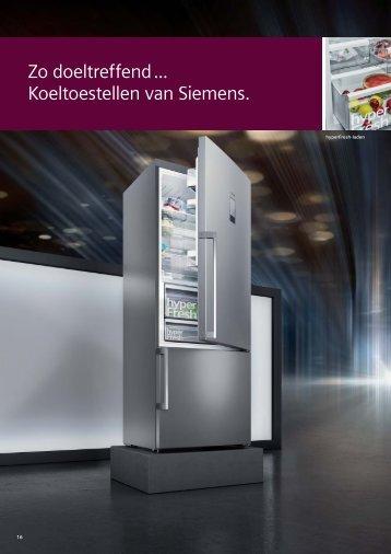 Siemens, koelkasten en diepvriezers (2018)