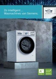 Siemens, wasmachines (2018)