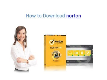 How to Download norton