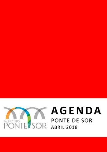 Agenda Ponte de Sor - abril 2018
