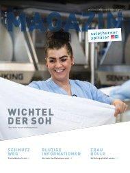 Magazin Mitarbeitende Solothurner Spitäler 01/18 - Wichtel