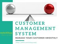 Customer Management System - Manage Your Customer Smoothly